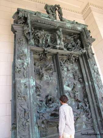 Dicas da Philadelphia - Museu do Rodin Porta