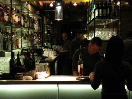 Twenty Five Lusk San Francisco - mesa do bar