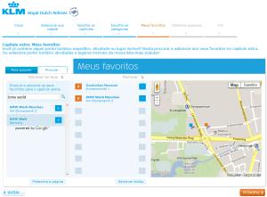 Guia de viagem KLM - Passo 6