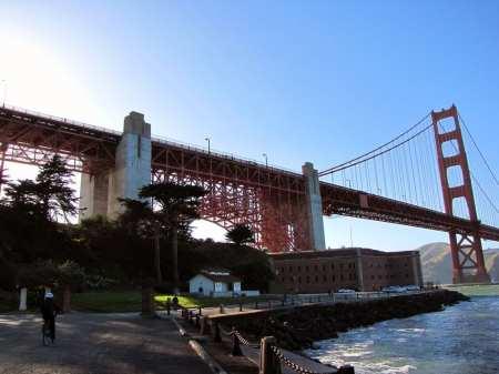 Roteiro de bicicleta por São Francisco - ficamos por aqui