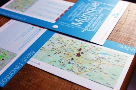 Guia de viagem KLM - mapa