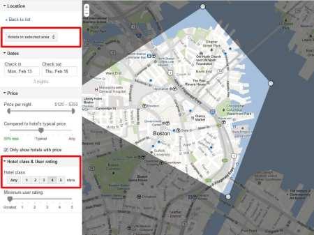 Hotwire e Google Hotel Finder