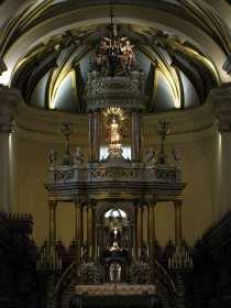 Palácio Episcopal e Catedral de Lima - altar da catedral