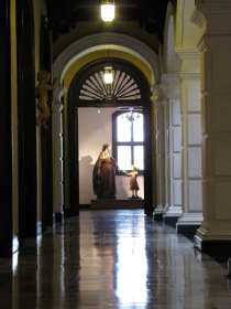 Palácio Episcopal e Catedral de Lima - corredor