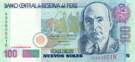 Roteiro do Peru - 100 Nuevos Soles