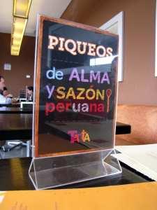 Tanta do Chef Gastón em Lima