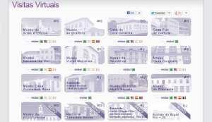 Museus com Visitas Virtuais
