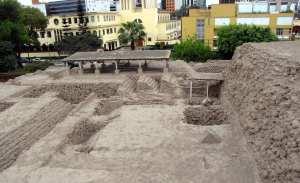 sitios arqueológicos de lima: Huaca Huallamarca - vista de cima