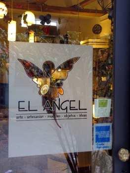Artesanato em Buenos Aires - El Angel - entrada