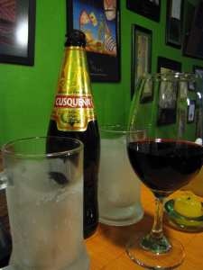 Justina: Pizzaria em Cusco - Cusqueña