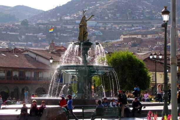 Mal de altitude - Plaza de Armas em Cusco