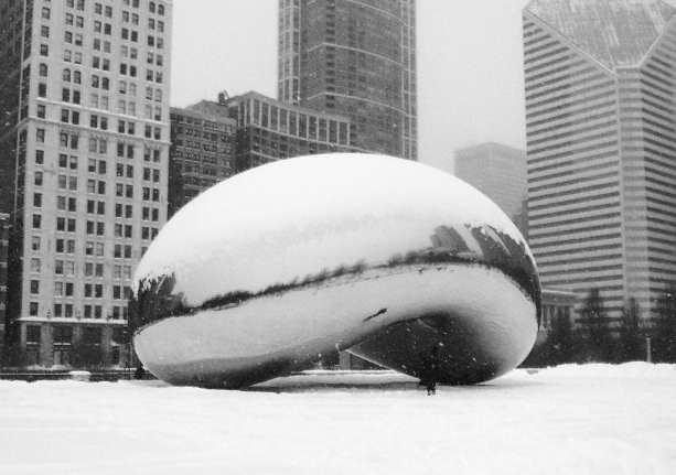 Melhor época para visitar Chicago - the bean no inverno