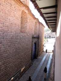 Onde ficar em Cusco - Rua ao lado do Loreto Boutique Hotel