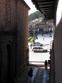 Onde ficar em Cusco - Plaza de Armas vista do hotel