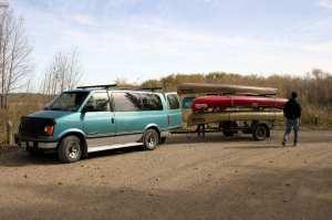 CanoeSki - nossas canoas