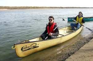 CanoeSki - Tensão dentro da canoa