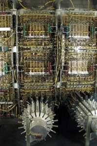 Museus de Munique - Deutsches Museum UNIVAC I: seria isso memória, processador ou HD?