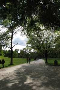 English Garden de Munique - parque