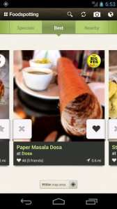 Melhores apps de 2012 - Foodspotting