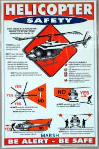 Heli Yoga - Instruções para aproximação de helicópteros