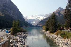 Lagos do Canada - Uma pequena ponte no Lake Louise