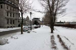 Montreal no Inverno - Old Montreal