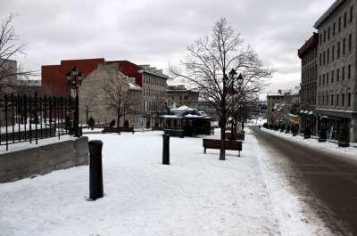 Montreal no Inverno - Frio
