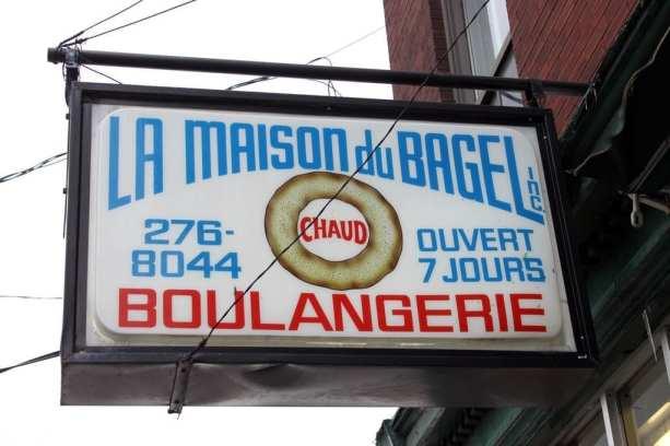 Mercados em Montreal - La maison du Bagel