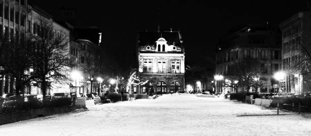 Onde ficar em Montreal - Old Montreal - Jardim gelado