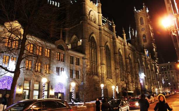 Onde ficar em Montreal - catedral de Notre Dame