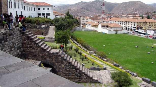 Valle Sagrado - Qorikancha - pátio externo