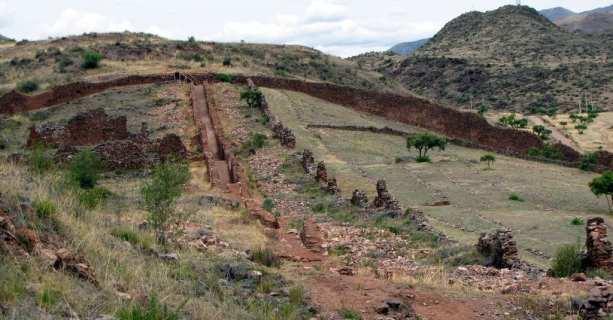 Valle Sagrado - Pikillacta - Muralha da China pré-inca?