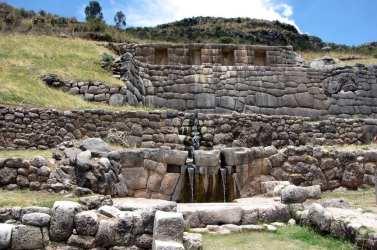 Valle Sagrado - Tambomachay - principal fonte
