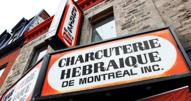Comer bem em Montreal - Schwartz's