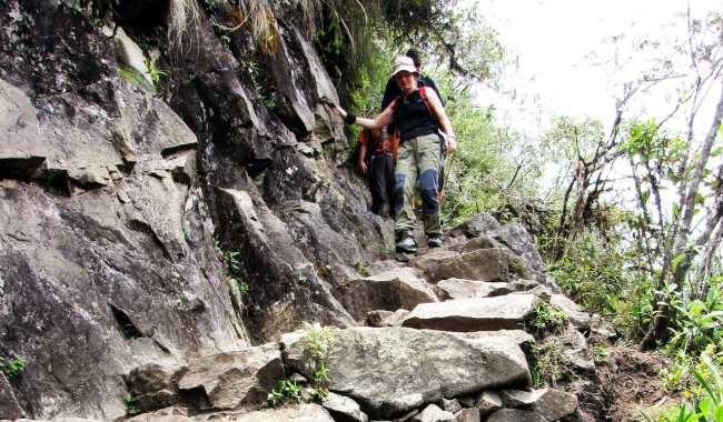 Machu Picchu - caminho até huayna picchu