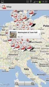 Top 100 Germany - localização das 100 melhores atrações da Alemanha
