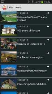 Top 100 Germany - notícias