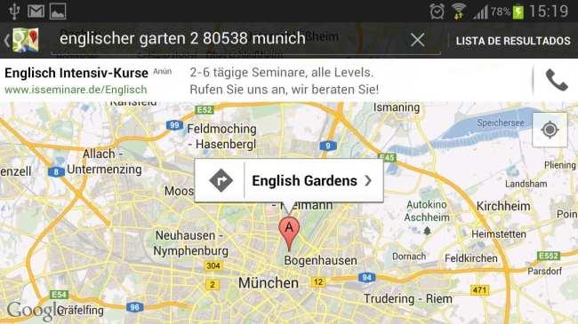 Top 100 Germany - Mapa da localização direto no Google Maps
