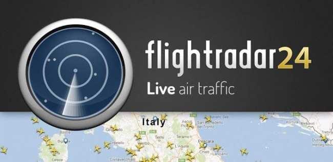 FlightRadar24 - acompanhe vôos ao vivo