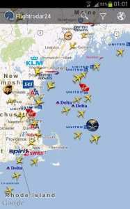 FlightRadar24 PRO - companhias aéreas