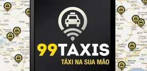 Apps de Táxi - 99 táxis