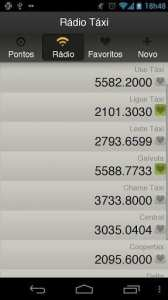 Apps de Táxi - Moove - rádio-táxis