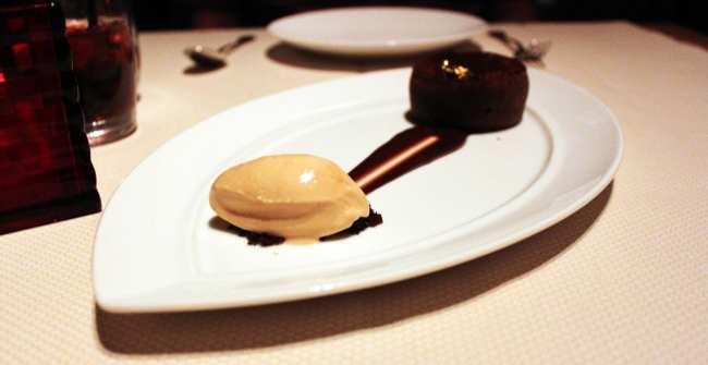 Comer bem em Montreal - Maison Boulud - sobremesa