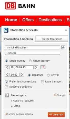 Como ir de Munique para Praga - escolhendo a rota e horário