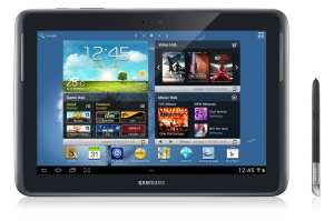 Samsung Galaxy Note 10.1 - frente