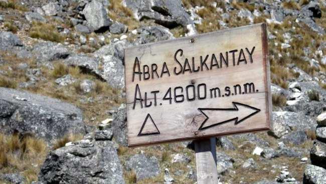 Trilhas no Peru: Trilha de Salkantay - 4600m de altitude