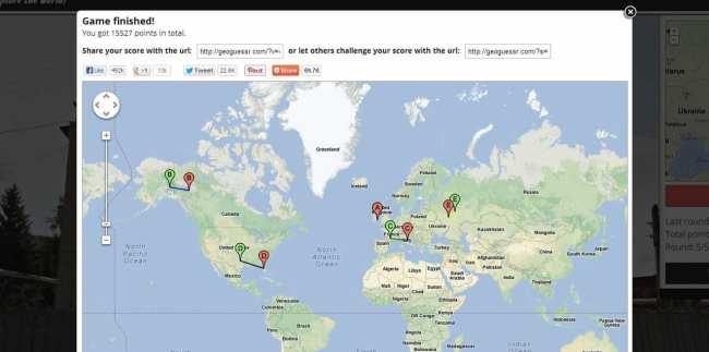 GeoGuess - resultado final