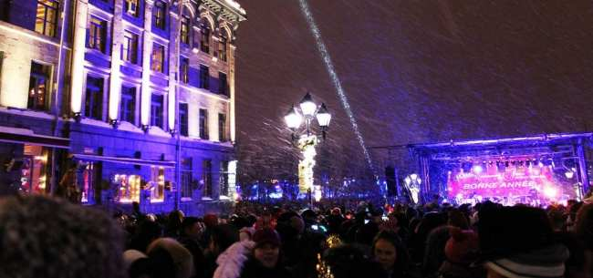 Natal e ano novo na neve de Montreal - Contagem regressiva