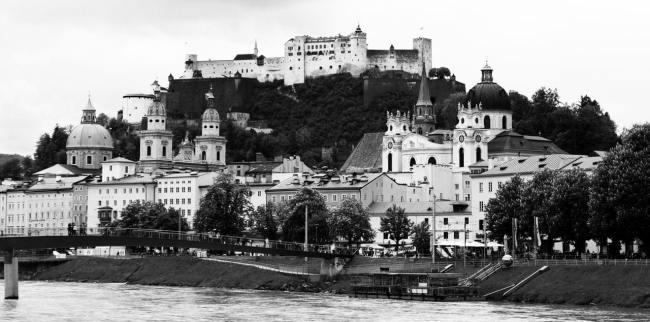Roteiro de Salzburg - Cista do centro histórico