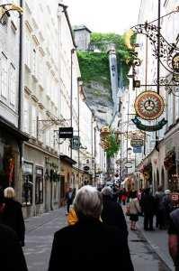 Roteiro de Salzburg - ruas do centro histórico